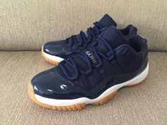 Find Out The Release Date For The Air Jordan 11 Low Navy/Gum
