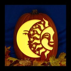 """This Pumpkin is Carved to Order.The Pumpkin is a Micheal's 13"""" Craft PumpkinThe price includes the Carved Pumpkin and a """"plug in""""  light with inline switch.Also includes a Orange -  LED  C7 Night Light Bulb - 50,000 Life HoursThe LED Bulb Remains Cool to the Touch.There is also Hole in the Bottom, if you prefer to use a Battery Powered Disc Light. (not included)Carved by Professional Pumpkin Carver St0ney.It is a perfect gift for friends and family.<---------------------------------------------- Halloween Pumpkin Carving Stencils, Halloween Pumpkin Designs, Amazing Pumpkin Carving, Pumpkin Carving Patterns, Pumpkin Designs Carved, Halloween Pumpkins, Unique Pumpkin Carving Ideas, Carved Pumpkins, Pumpkin Ideas"""