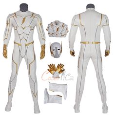 Item Number:dcthf001, Godspeed Costume The Flash 5 Cosplay August Heart White Fashion Man Full Set on sale now! CoserCos offer the best Cosplay Costumes Online. Shipping Worldwide.