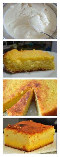 Torta Cremoso de Maíz con Coco guarda este pin Añada los demás ingredientes, menos el coco # Pastel # tarta #cumpleaños#dulce#postre#pudín#mousse#cheesecake#chocolate#sanvalentin#love#receta#confitería