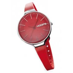 HOOPS Watches Red & Stainless Steel Glam Ladies Watch £36