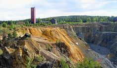 Falun Mine (Swedish: Falu Gruva) was a mine in Falun, Sweden, that operated for a millennium from the 10th century to 1992. It produced as much as two thirds of... Get more information about the Falun Mine on Hostelman.com #attraction #Sweden #world heritage site #travel #destinations #tips #packing #ideas #budget #trips