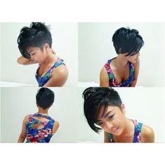 I want this hair cut