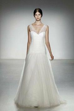 Model Delancey - 2014 Amsale Robe de mariée sur www.espacemariage.com
