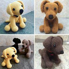 Crochet Labrador Puppy - Free Pattern