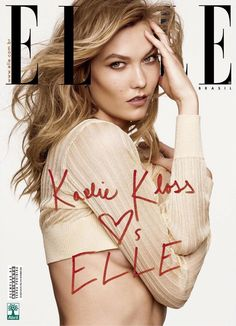 Karlie Kloss by Nicole Heiniger for Elle Brazil March 2016