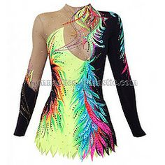 In our beautiful competition rhythmic gymnastics leotard Jennifer for girls you will feel confident and stay focused only on your performance! Gymnastics Uniforms, Rhythmic Gymnastics Costumes, Gymnastics Suits, Gymnastics Hair, Gymnastics Competition, Acrobatic Gymnastics, Gymnastics Problems, Olympic Gymnastics, Olympic Games