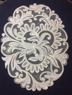 Bobbin Lace, Rococo, Hand Embroidery, Macrame, Elsa, Paper Crafts, Type, Patterns, Tin