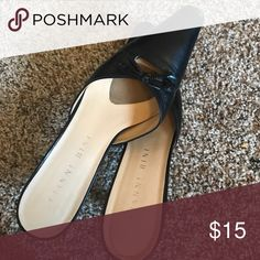 Darling Gianni bini be leather mules Worn very little perfect condition Gianni Bini Shoes
