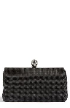 Whiting & Davis 'Crystal' Mesh Clutch available at #Nordstrom
