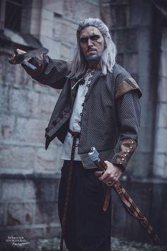 Geralt Cosplay by Stylouz   www.facebook.com/stylouzcosplay   #Geraltcosplay #Witchercosplay #Geraltofriviacosplay #Thewitchercosplay Witcher 3 Geralt, The Witcher, Geralt Of Rivia Cosplay, Goth, Punk, Facebook, Style, Fashion, Gothic