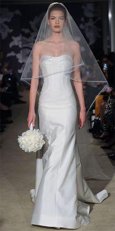 Carolina Herrera Spring 2015 Bridal Collection - Carolina Herrera from #InStyle