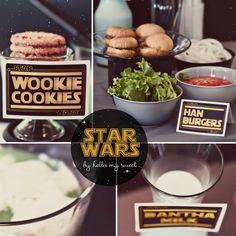 Star Wars Party PrintablesGiveaway -