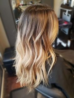 Ombre Hair Color, Hair Color Balayage, Hair Highlights, Bayalage, Balayage Brunette To Blonde, Light Brunette, Blonde Balayage Highlights, Ombré Hair, Brown Blonde Hair