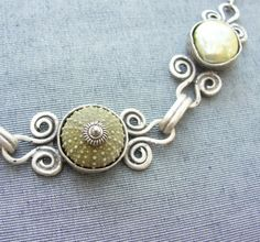 Sea Urchin Collection  Special Green Necklace by StaroftheEast, $88.00