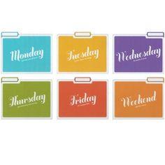 Days of the Week: Folder:Amazon:Books