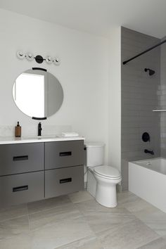 Bathroom Trends, Modern Bathroom, Modern Exterior, Black And White, Home, Funky Bathroom, Black White, Black N White, Haus
