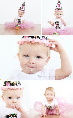 1 year photo session...cupcake smash