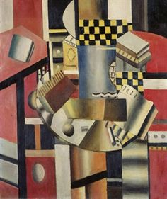 FERNAND LEGER (1881-1955) LE DAMIER JAUNE