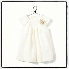 ZARA baby girl dress. LOVE for the baptism. @jackiegoebel