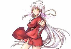 This is what InuYasha might have looked like had he been a girl… So whatcha think?