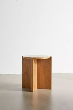 Shop Astrid Round Side Table at Urban Outfitters today. Rattan Stool, Rattan Basket, Cool Furniture, Furniture Design, Urban Outfitters, Round Side Table, Side Tables, Round Design, Wood Veneer
