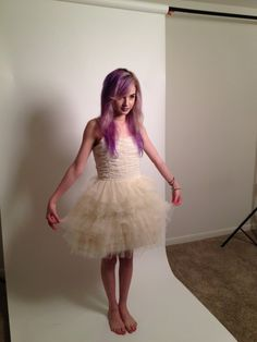 White Dress (cupcake dress) $12.00  Poppy