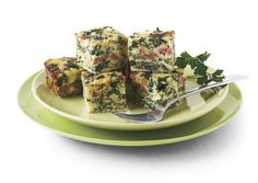 Frittata bites with chard and sausage.  Delicious for picnics or for easy outdoor brunch!