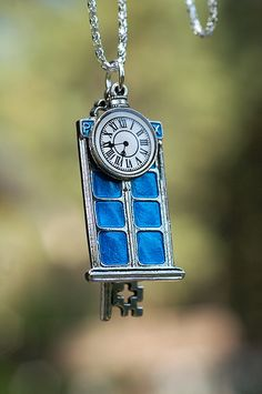 Time Traveler's Pendant by KeypersCove on Etsy, $20.00