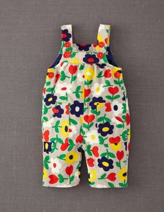 Cute little floral kids dungarees by Boden Cute Outfits For Kids, Toddler Outfits, Kids Fashion, Fashion Outfits, Kid Styles, Baby Sewing, My Baby Girl, Kids Wear, Baby Dress