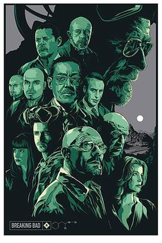 See 13 Pieces of Colorful Breaking Bad Fan Art -- Vulture