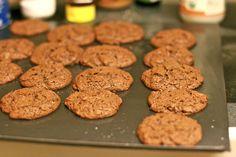 Paleo cocoa – almond butter cookies == Hobo Mama