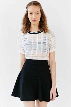 Silence + Noise Jojo Skirt from Urban Outfitters. Shop more products from Urban Outfitters on Wanelo. Urban Outfitters, Fashion Beauty, Fashion Looks, Fit And Flare Skirt, Cute Teen Outfits, New Wardrobe, Urban Fashion, Autumn Winter Fashion, Nice Dresses