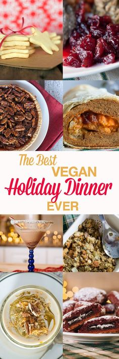 Are you stuck looking for last minute Christmas dinner recipes that are vegan and delicious? Well look no further because this is the BEST vegan Holiday dinner ever. #Vegan #Holiday #Christmas
