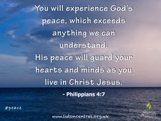 Philippians 4:7 #peace #heart #mind #God #verseoftheday #bible #scripture #truth #lifelesson