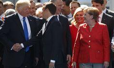 Τραμπ - Μακρόν: Η χειραψία σαν πολιτικό όπλο ~ Geopolitics & Daily News