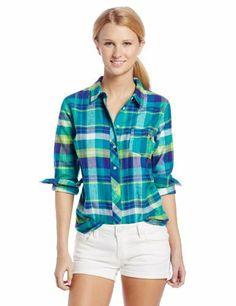 U.S. Polo Assn. Women's Long Sleeve Brushed Twill Plaid Shirt, http://www.amazon.com/dp/B00FWNUPZA/ref=cm_sw_r_pi_awdm_PG7qtb0YVGETY