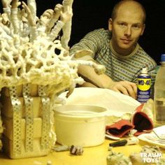 Behind the scenes of short stop motion film Orfeus (2012) directed by Thomas Balmbra, produced by Oneiros.