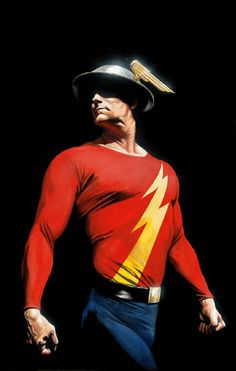 The Golden Age Flash by Alex Ross.