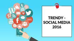 Trendy - social media 2016