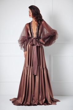 There are no words for how badly I need this robe. Magnum Almond Robe from Amoralle