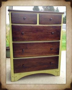 Brookside Moss Dresser With A Jacobean Stain