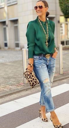 🍃 via my dear 🍃 Classy Outfits, Chic Outfits, Fashion Outfits, Womens Fashion, Paris Chic, Look Fashion, Autumn Fashion, Looks Jeans, Moda Outfits