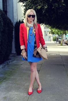 How To Wear The Unexpected Color Combination On Your Street Looks