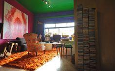 WALKTALK design studio tour, visiting Samy D appartment
