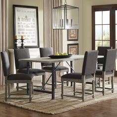Renate Grey Dining Chairs (Set of 2)