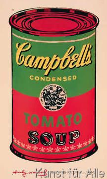 Andy Warhol - Campbell's Soup V