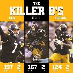 Beware The Pittsburgh Steelers' Killer B's.