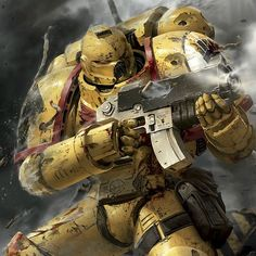allthingswarhammer:  Description: The boys! Love this picture! #imperialfists #warhammer 40 k #imsuchanerd Author: csearcy77 on Instagram Source: http://gbp24.me/1oOhizr Date: June 20, 2014 at 04:07PM