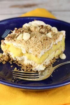 Creamy Vanilla Dessert Lasagna